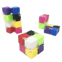 new speed puzzle toy pvc compact colorful magic rainbow play toy classic magic cube toy for children educational jigsaw toy gift