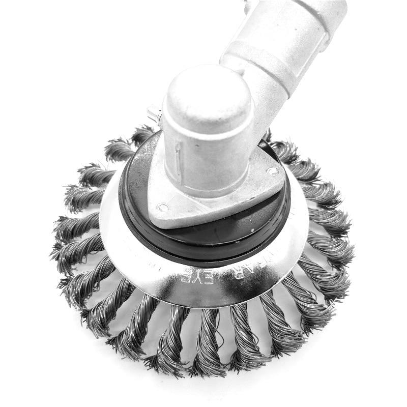 6-tolline murutrimmeri pea, terastraadist trimmeripea, võsalõikuri - Aiatööriistad - Foto 5