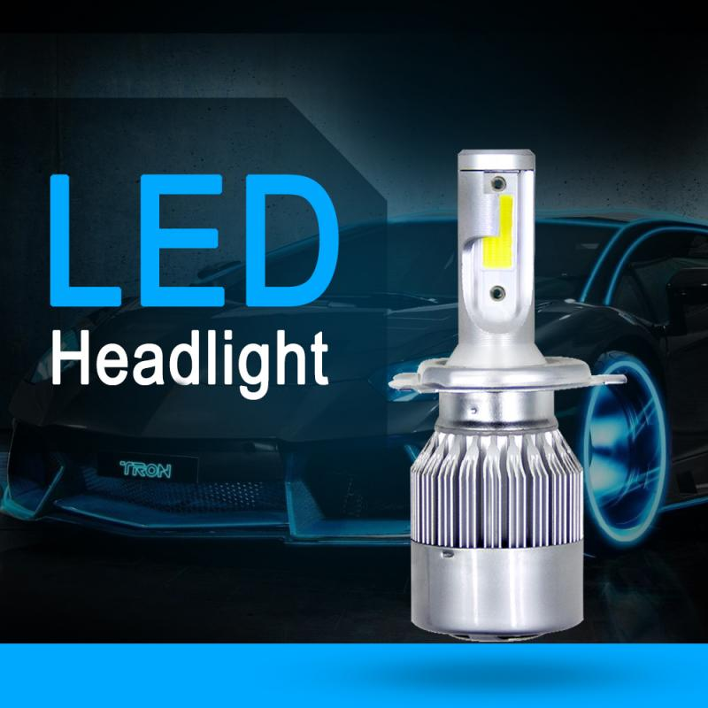 Faros LED H4, cascos de 1500W 6000K 225000LM, bombillas de faro delantero de coche 6500K 4300K 8000K H4 H7 H8 H11 H1 H3Fog, accesorios para coche