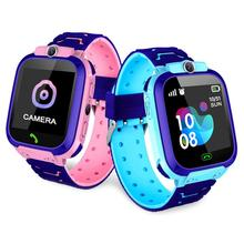 2Colors 9 Languages Q12 Smart Phone Watch For Children Student 1.44 Inch Waterproof Student Smart Wa