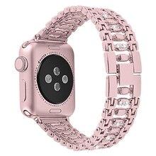 Correa de acero inoxidable para Apple watch 5 banda 40mm 44mm pulsera de eslabones Apple watch serie 5 4 3 iwatch 3 banda 38mm 42mm