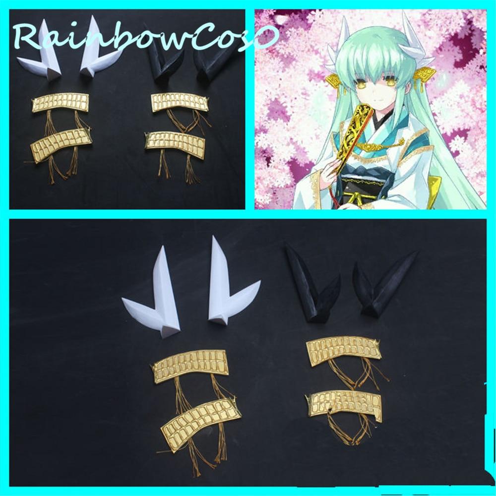 RainbowCos0 косплей реквизит Fate Grand Order fgo Berserker Kiyohime аниме Хэллоуин