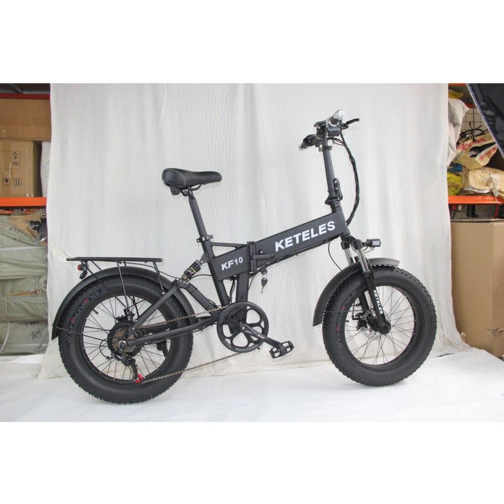 KETELES Bicicleta Gorda e Bicicleta 1000W plegado Bicicleta eléctrica electrónica bicicletas Bicicleta...