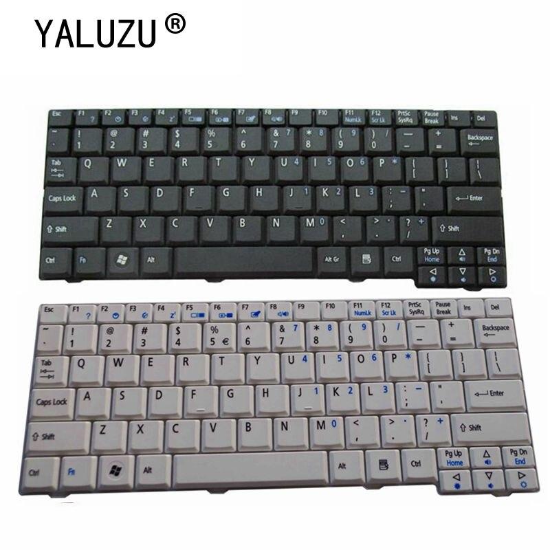 YALUZU US nuevo teclado Inglés para ordenador portátil Acer para Aspire ASone...