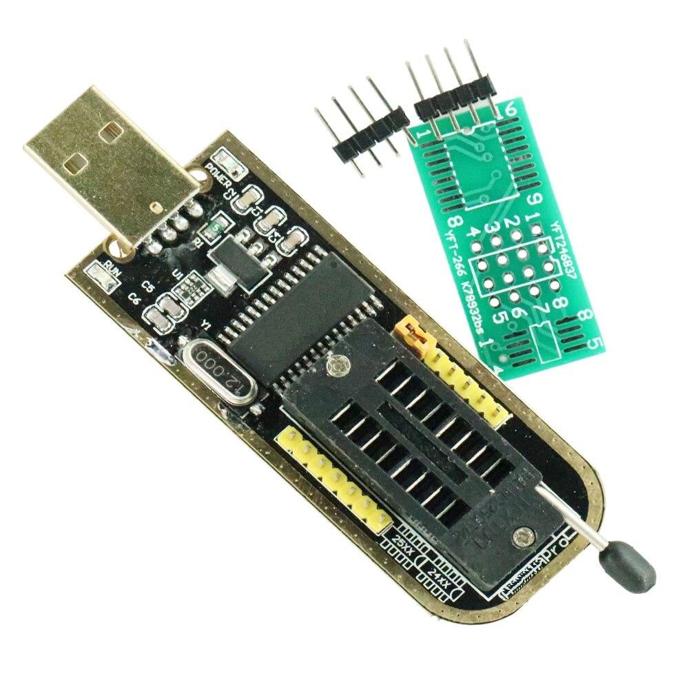 ¡La identificación automática! PROGRAMADOR USB WCH341A serie 24 EEPROM escritor 25 SPI Flash BIOS Junta módulo USB a TTL 5V-3,3 V