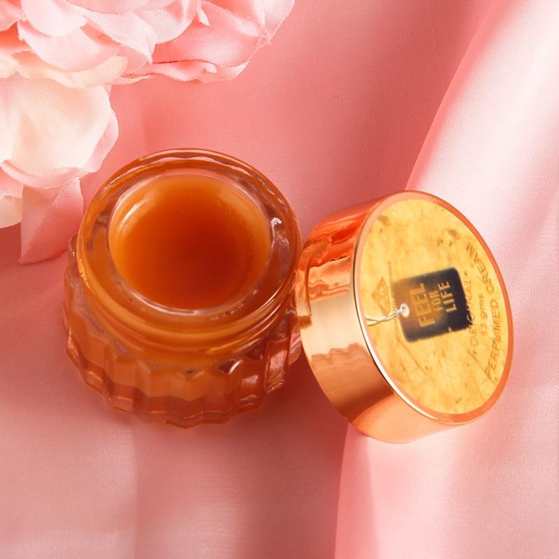 Natural Plants Solid Deodorant Solid Fragrance For Women Men Fragrant Cream Solid Balm*