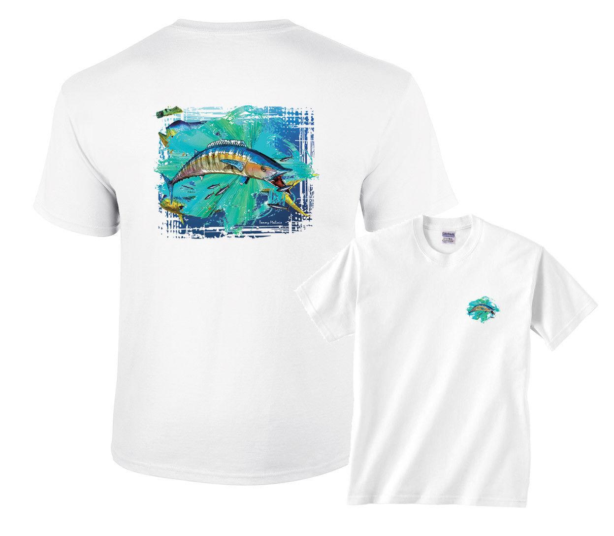 Wahoo Splash pesca camiseta de dibujos animados hombres Unisex nueva moda camiseta envío gratis top ajax 2018 divertidas camisetas 100%