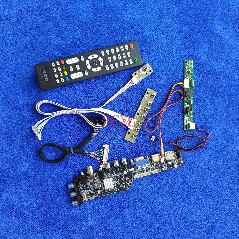 لوحة قيادة شاشة لـ LM230WF3-SLD1/SLE1/SLK1/SLL1/SLN1/SLP1/SLQ1 HDMI-متوافق مع USB VGA LED LVDS 30Pin عدة رقمية 1920*1080