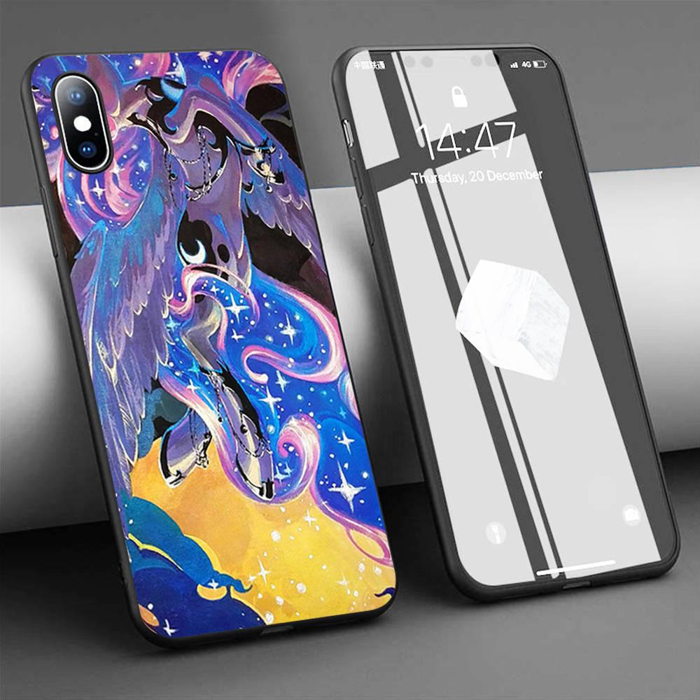 Coque Moonrise, funda de teléfono de silicona suave para iPhone 11 Pro Max X 5S 6 6S XR XS Max 7 8 Plus, funda para teléfono