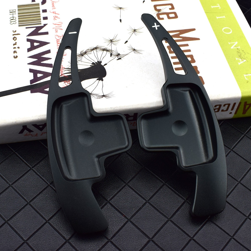 For Mercedes Benz A B E M Class w204 w212 GLK CLA GLA Car Steering Wheel Paddle Shift Extension Shifters DSG Car Sticker styling