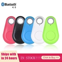 mini wireless bluetooth compatible tracker gps trackers positioning key wallet anti theft alarm tracer safety for smart home