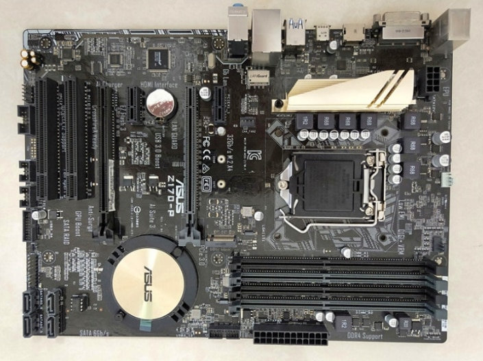 Placa base original para ASUS Z170-P, LGA 1151, DDR4, 64GB, USB3.0, Z170,...