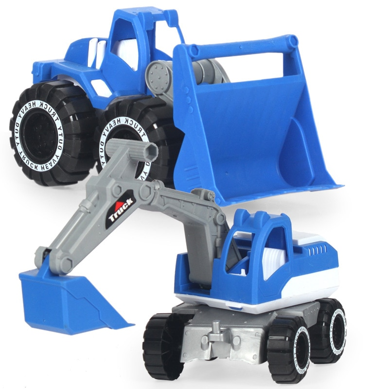 New Baby Classic Simulation Engineering Car Toy Excavator Model Tractor Toy Dump Truck Model Car Toy Mini Gift for Kids Boy new baby classic simulation engineering car toy excavator model tractor toy dump truck model car toy mini gift for kids boy