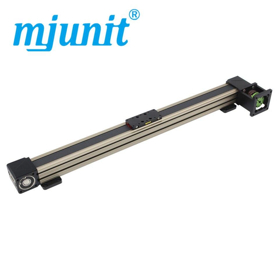 Mjunit-مسار التصوير الفوتوغرافي 45X ، حزام التوجيه الخطي ، دقة عالية ، تحديد المواقع بدون باعث ، تشغيل سلس