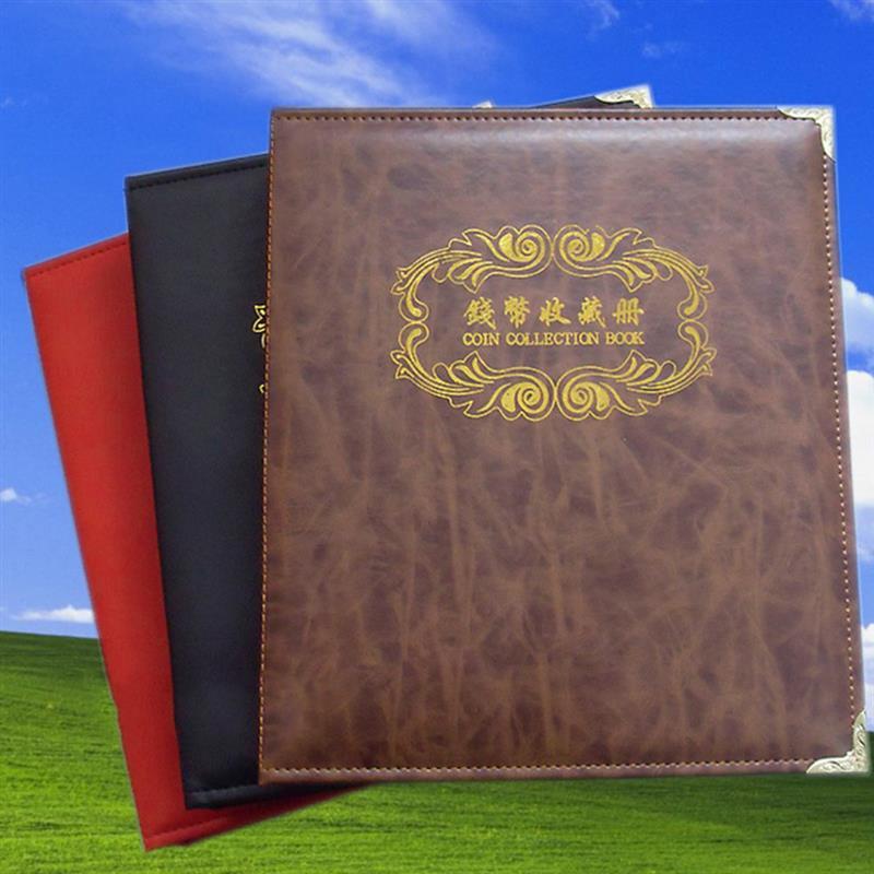 AliExpress - Coins Collection Album Currency Coin Collection Binder Album Holder Case Paper Money Storage