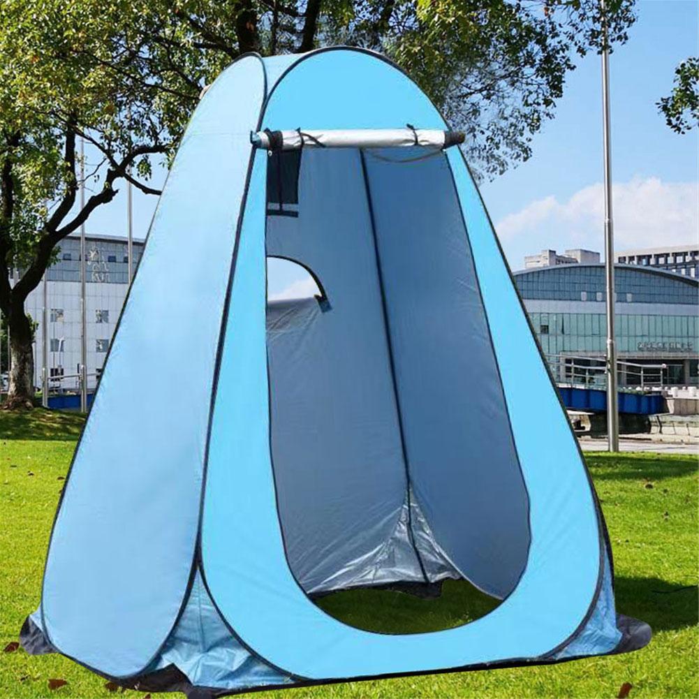 Instantané Pop Up Pod vestiaire tente dintimité Portable anti-uv tente de douche Camp toilette abri de pluie pour la plage de Camping en plein air