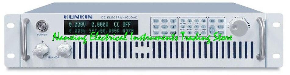 وصول سريع KL7200 150 فولت/120A/800 واط KL7201 150 فولت/180A/1200 واط عالية الطاقة التي تسيطر عليها برنامج تيار مستمر الحمل الإلكتروني