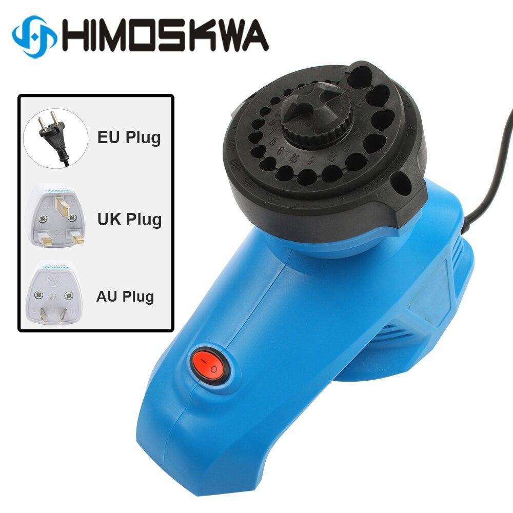 Motorista de broca de alta velocidade 95w 220 rpm da torção da máquina do moedor de broca da tomada da ue do apontador de bocado de broca 1350 v para o tamanho 3-12mm