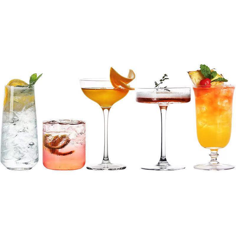 Licht En Dun Serie Japanse Cocktail Glas Geroosterd Tall Martini Glas Singapore Admiraal Longdrink Glas