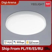Yeelight plafonniers intelligents C450 C550 Support Homekit Bluetooth telecommande APP commande vocale lampe intelligente fonctionne avec Mijia