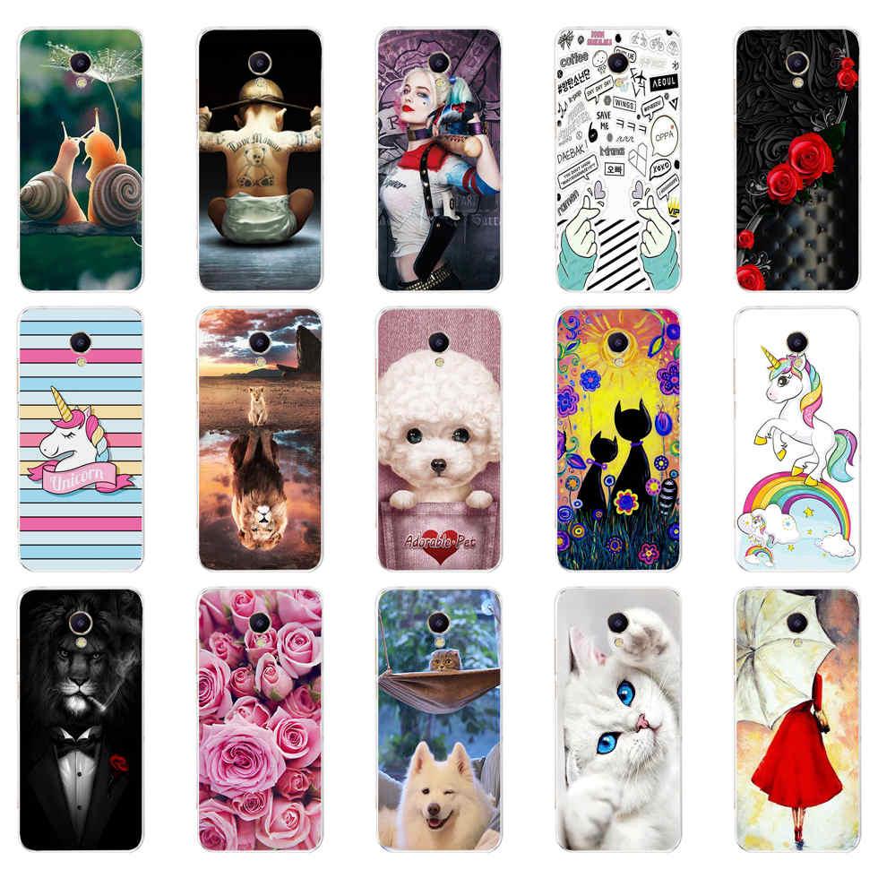 For Meizu M5 Case Cover Soft TPU Capas Back Cover For Meizu M5 Phone Case Silicone Bumper Fundas