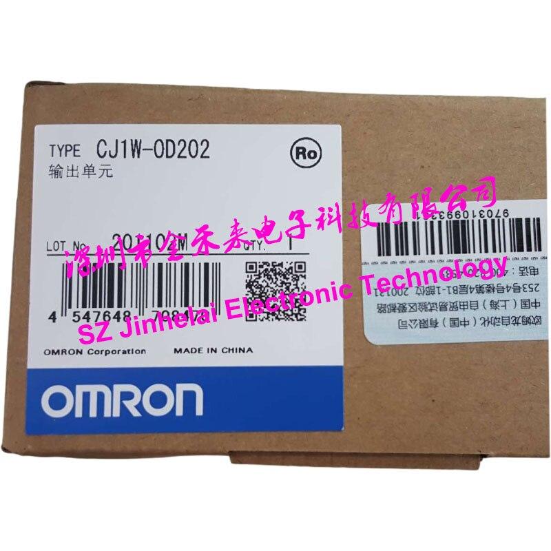 جديدة ومبتكرة CJ1W-OD202 اومرون PLC الإخراج وحدة CJ1W-0D202