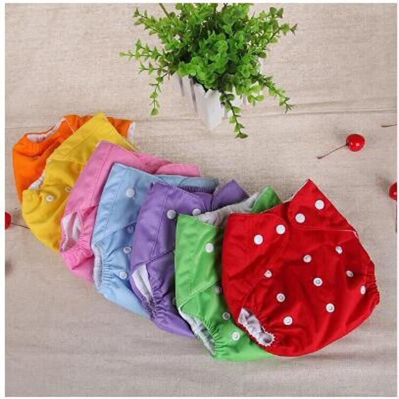 Детские подгузники, хлопковые Моющиеся Многоразовые подгузники, сетчатые тренировочные штаны, тканевые подгузники, детские подгузники, зи...