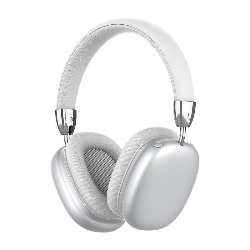 Беспроводные Bluetooth-наушники для смартфона, складные наушники с микрофоном, Hi-Fi стерео звук для Iphone, Huawei, Xiaomi, ПК