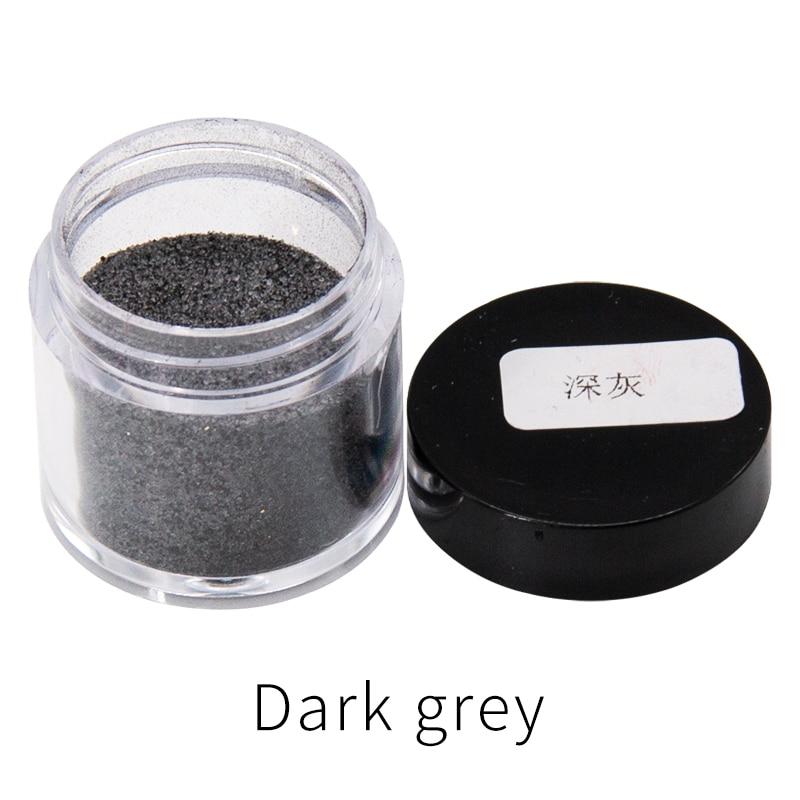 10g cor cinzenta escura pigmento rápido-morrendo da tintura da tela para a tintura roupas pena ovos de bambu e clipes pó acrílico da pintura