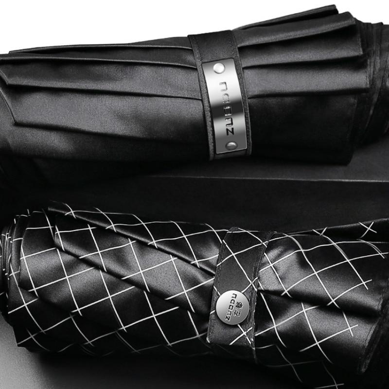 NEW Luxury Umbrella Men's Full-automatic Folding Umbrella Car Windproof Men Business UV Umbrellas Paraguas Gift Box Set SY125 enlarge