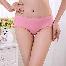 Linbaiway Sexy Women Seamless Panties Solid Low Waist Brids Timates Seamless Underwear Ladies Thongs