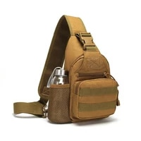 tactical cross body chest should bag for men military multicam hiking camping backpack travel hunting sports bag pack waterproof