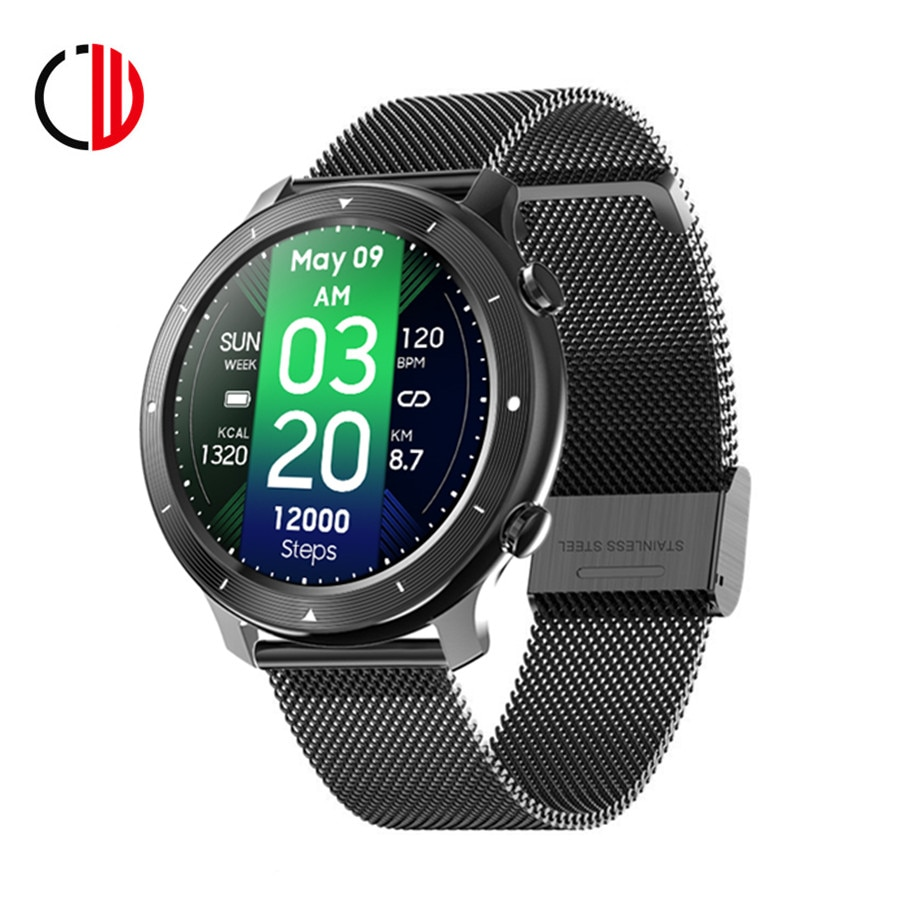 CZJW F87 2021 Smart Watch Men Women Full Touch Fitness Tracker Smartwatch Built-in game IP67 waterpr