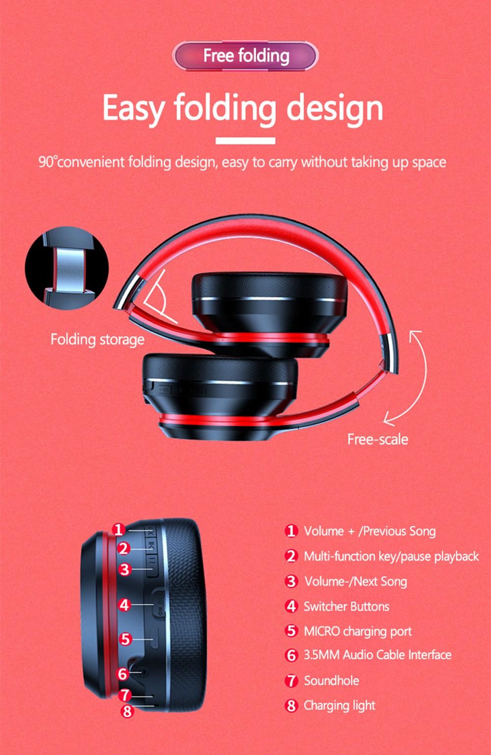 Lenovo HD200 Bluetooth Draadloze Stereo Hoofdtelefoon BT5.0 Lange Standby Leven Met Noise Cancelling Voor Xiaomi Iphone Lenovo Headset 18
