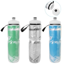 710ML Bicycle Water Bottle Outdoor Dual Layer Thermal Keeping Sport Bottle Hot Cold Water Cycling Ou