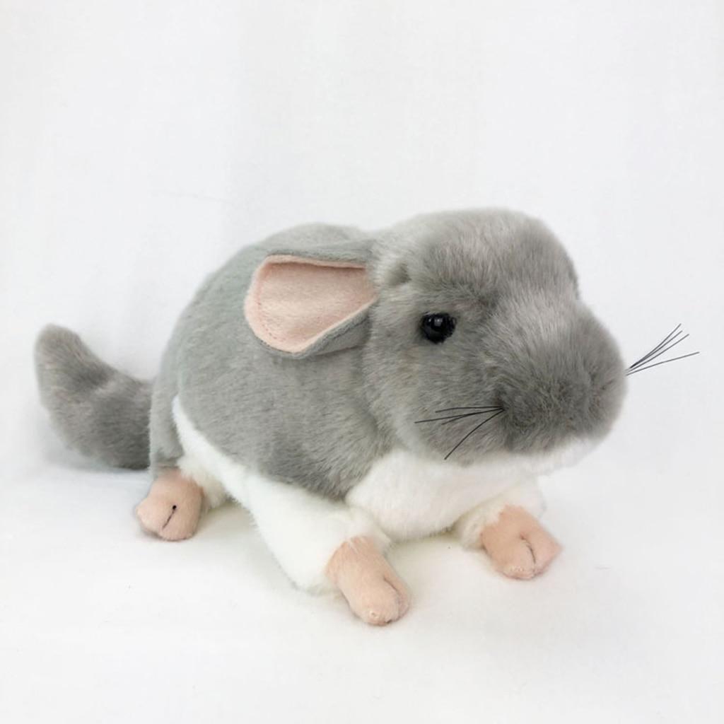Adorable juguete de peluche suave Chinchilla Animal relleno niños muñeco de peluche regalo de Navidad