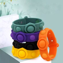 Pop It Hot Push Bubble Fidget Toys Adult Stress Relief Toy Antistress PopIt Soft Squishy Anti-Stress