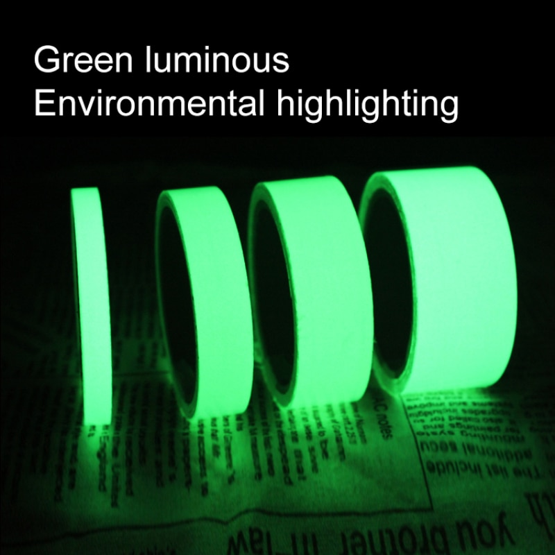 Luminous Tape Magical Reflective Glow In The Dark Stage Staircase Decorative Sticker Home Decoration Warning Fluorescent Tape
