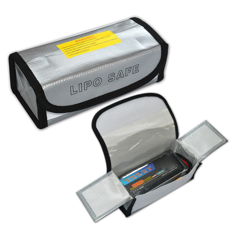 1pcs Fireproof Rc Lipo Li-po Battery Fireproof Safety Guard Safe Bag Charging Sack Battery Safety Gu