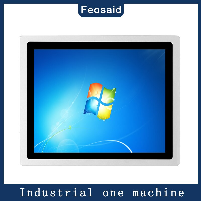 17 inch touch pc Industrial tablet computer core i3i5i74G/8G RAM mini pc capacitive touch all in one with wifi and double com