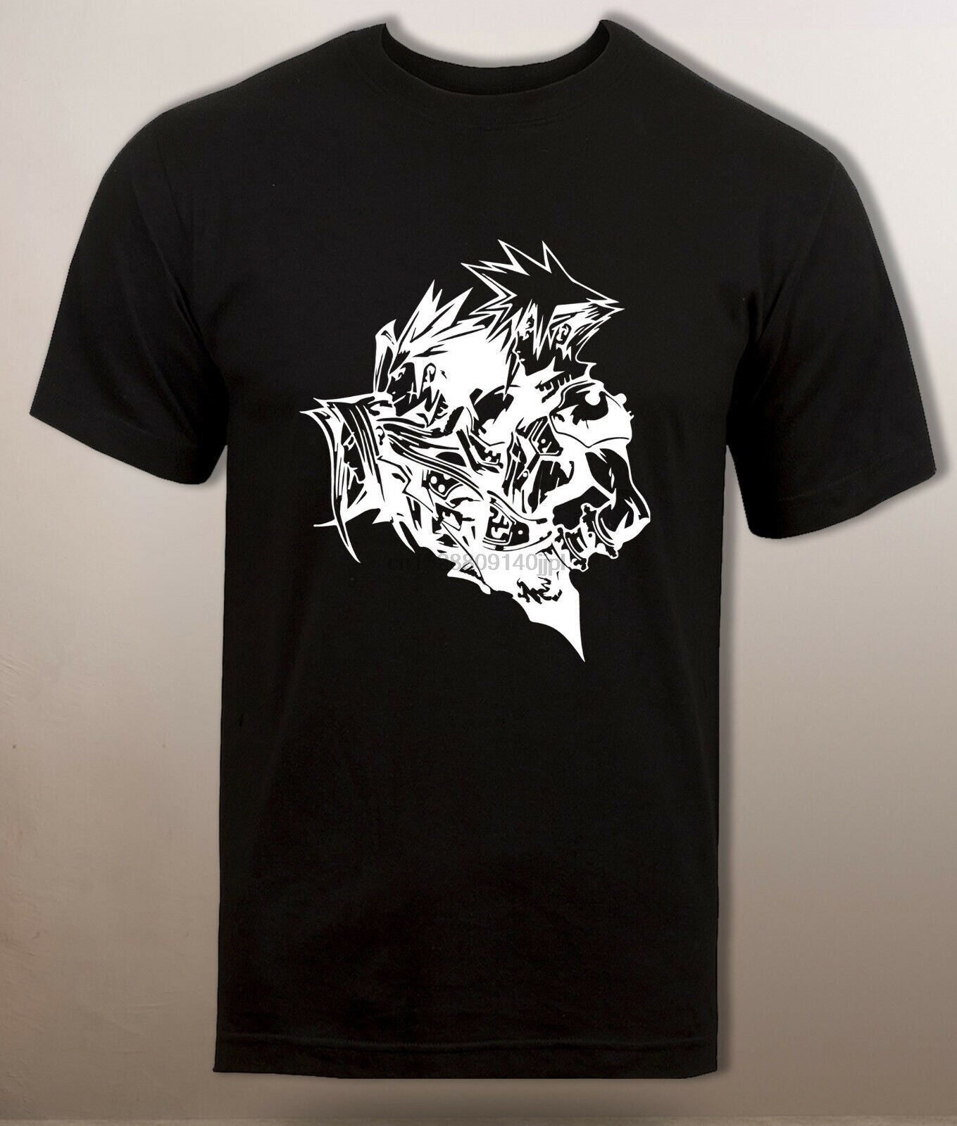 Final Fantasy 7 T camisa Sephiroth Zack justo Cloud Strife T camisa Ff7 Casual orgullo T camisa de los hombres de moda Unisex camiseta