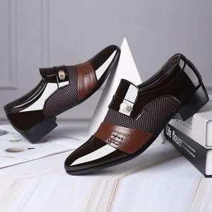 loafers men dressing shoes luxury evening dress official shoe for men wedding dressing Shoe brand formal loafe men classic shoes