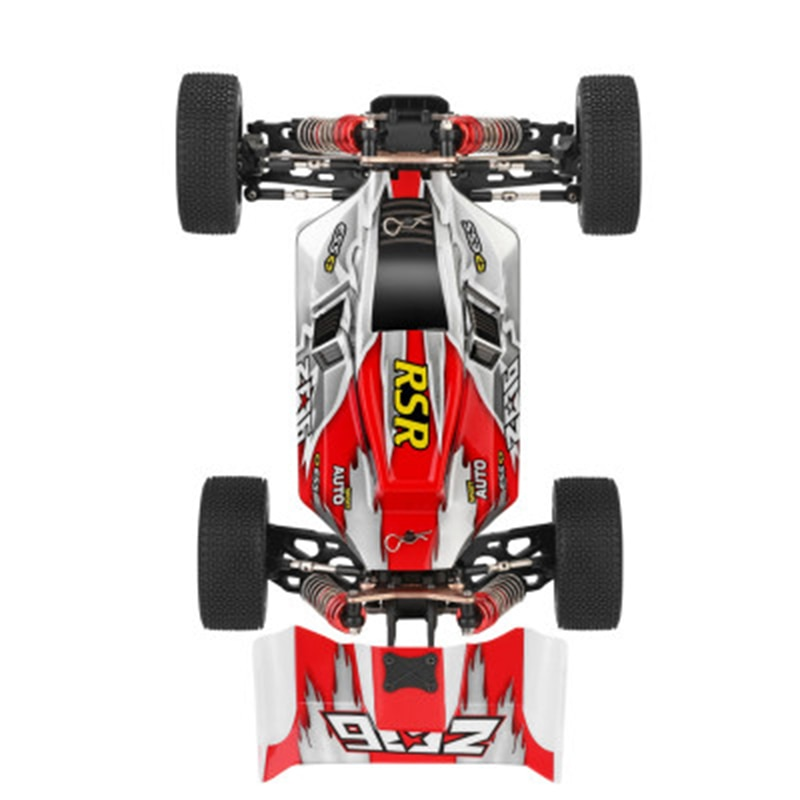 Doki Toys 144001 2.4G Racing RC Car Competition 60 Km/h Metal Chassis Electric RC Formula Car Remote Control Toys For Children enlarge