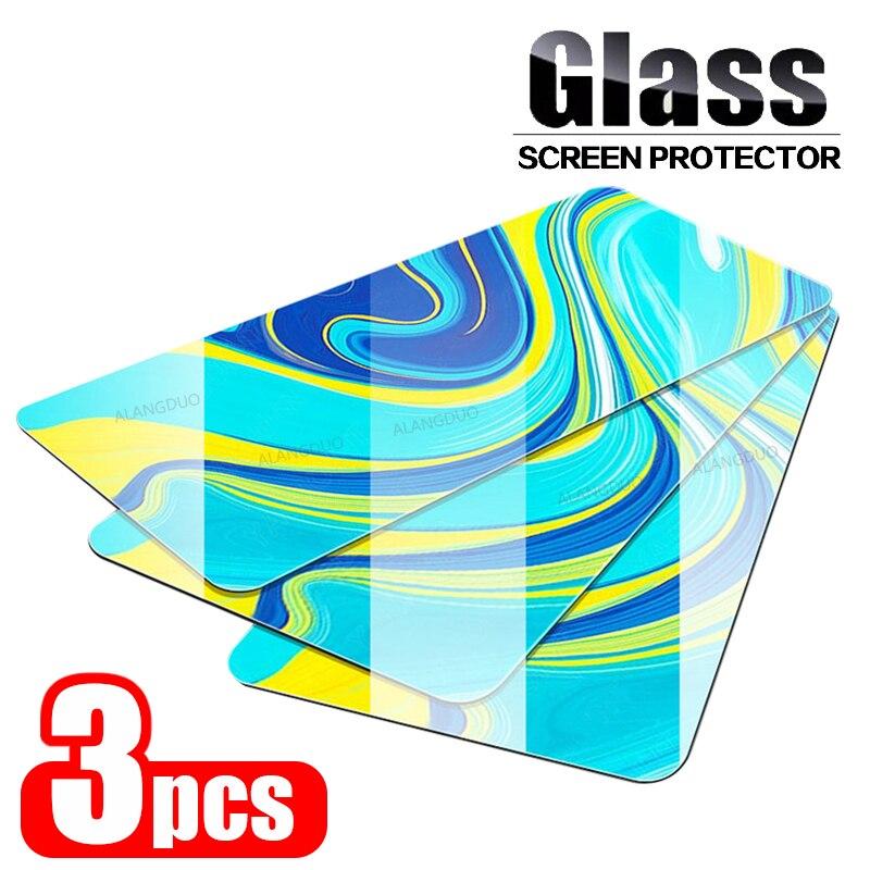 3 uds 9H vidrio Protector para Xiaomi Redmi Nota 9s 9pro max 7 8 pro k30 cámara de pantalla Protector Readmi Nota 8 8T 9s 9 pro Max
