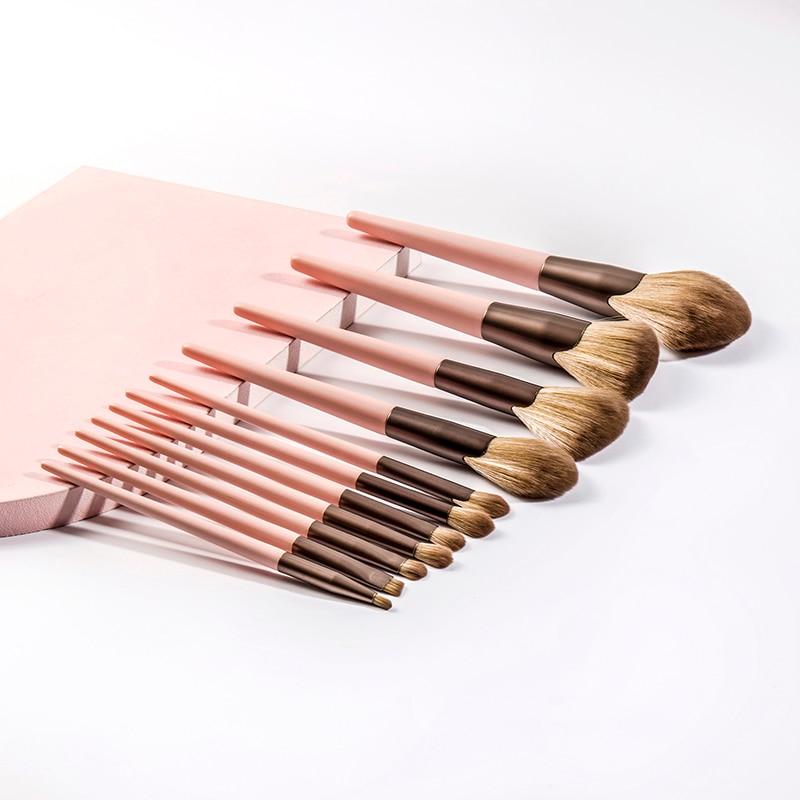4/5/7/11Pcs makeup brush tool set makeup powder eye shadow liquid foundation blush mixed beauty make