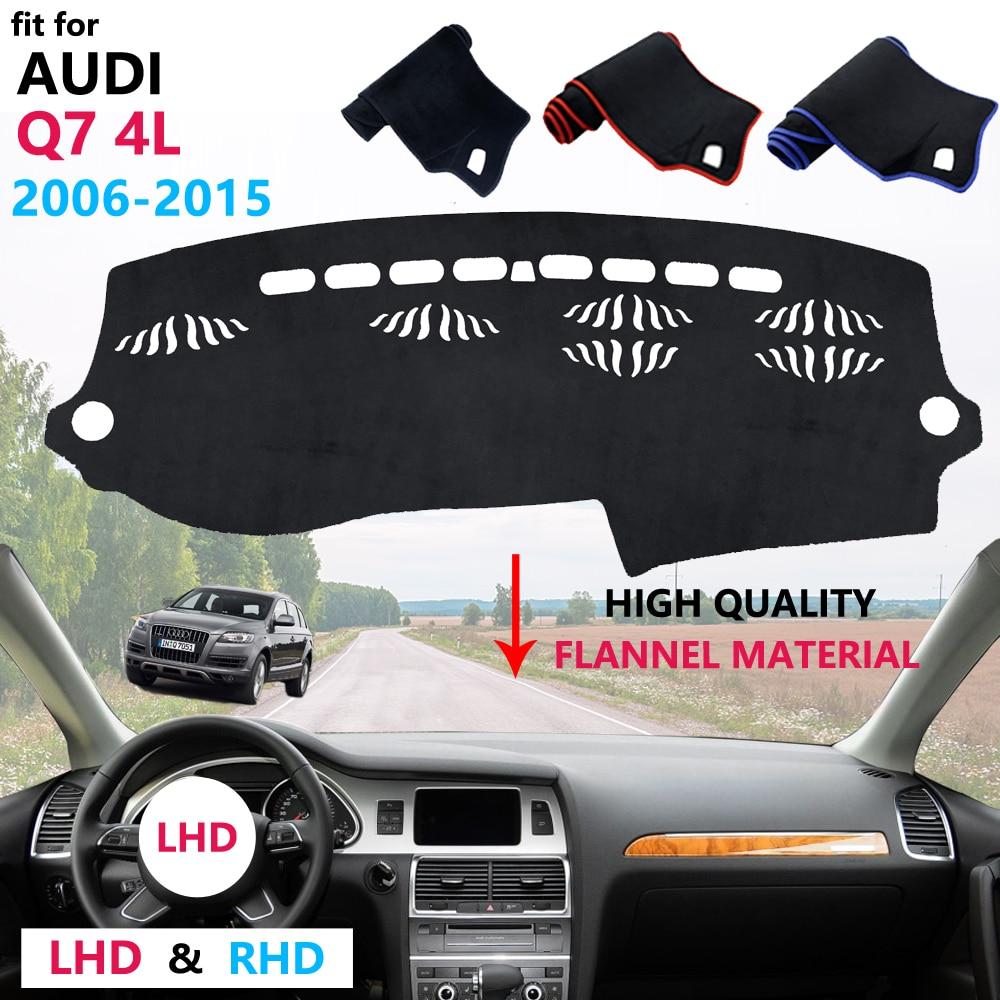 Tablero de protección de forAudi Q7 4L 2006 ~ 2015, 2007, 2008, 2009, 2010, 2011, 2012, 2013 alfombra de sombrilla salpicadero anti-UV Mat