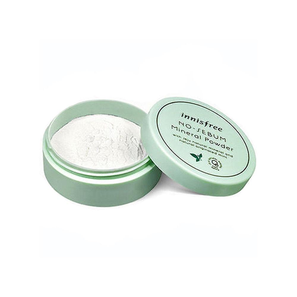 No Sebum Mineral Powder 5g Face Powder Mineral Foundations Oil-control Brighten Concealer Whitening Make Up Korea Cosmetics