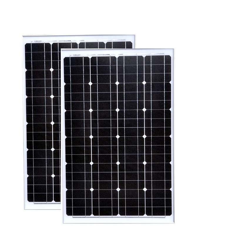 Panel solar de acampada 12v 60w 2 uds. Paneles fotovoltaicos portátiles 120w 24v cargador de batería solar Rv autocaravanas coche caravana al aire libre