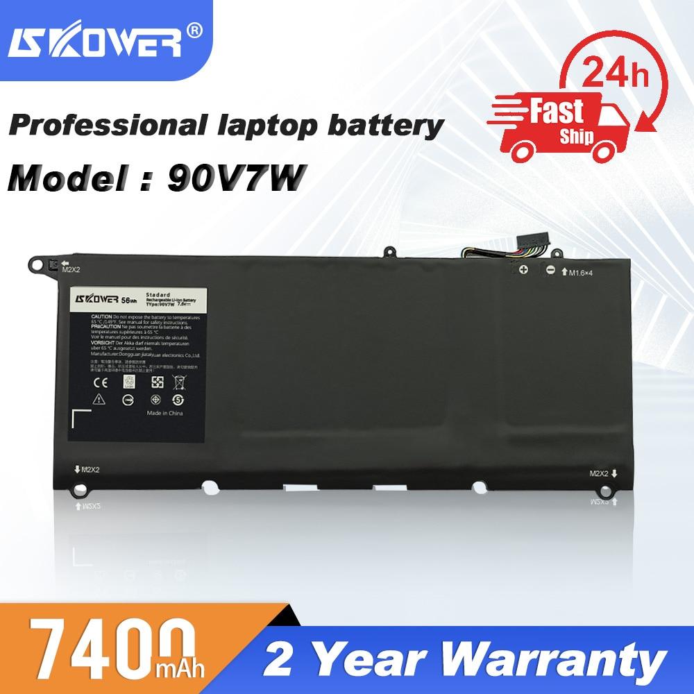 SKOWER Laptop Battery For DELL XPS13 9343 9350 9360 9370 9380 XPS 13 L321X L322X 9333 L221X Batteries 90V7W PW23Y C4K9V DXGH8