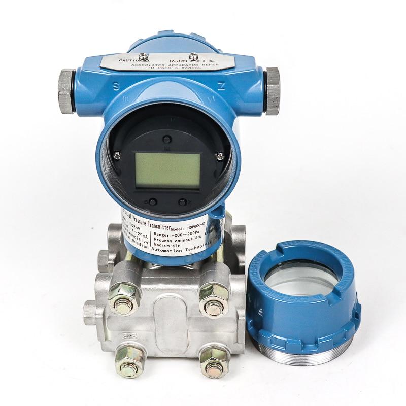 Sensor de presión de aceite de acero inoxidable capacitancia 0-5v sensor de nivel de combustible transmisor de presión diferencial